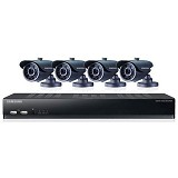 SAMSUNG 8 Channel DVR Security System [SDS-V4040 + Adaptor] - Cctv Camera